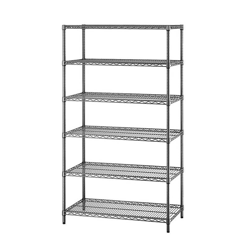 tier heavy duty wire shelving rack